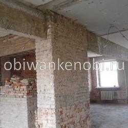 Демонтаж квартиры: потолки, перегородки, штукатурка, полы